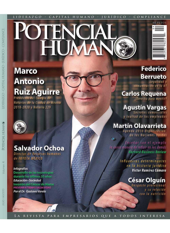 Revista Potencial Humano tomo 4
