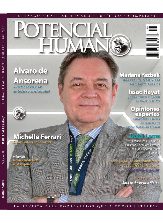 Potencial Humano Volumen 8 MARZO - ABRIL 2020